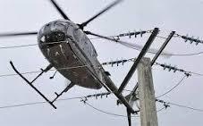 visite de ligne par helicoptere